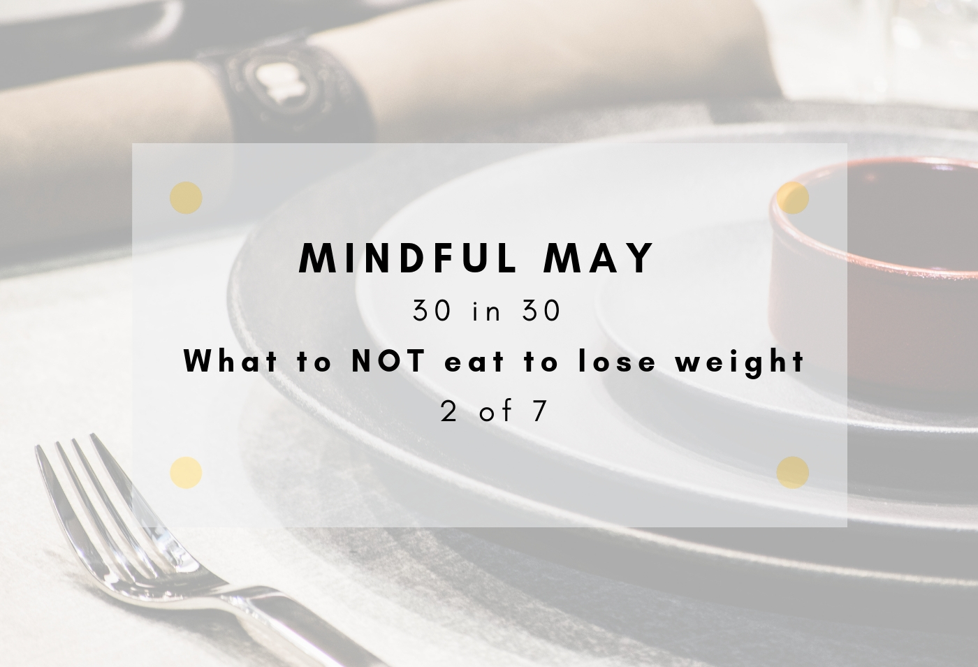 what to not eat to lose weight