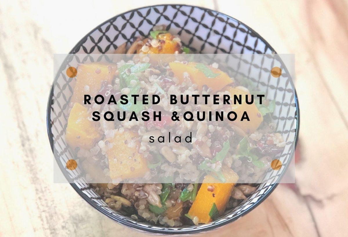 butternut squash quinoa
